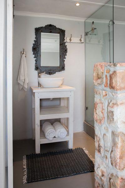 The Hut indoors bathroom