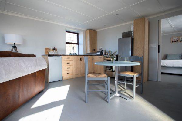 The Hut indoors kitchen